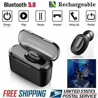 Wireless Bluetooth 5.0 Earbuds Headset Headphones Sports Waterproof Earphone