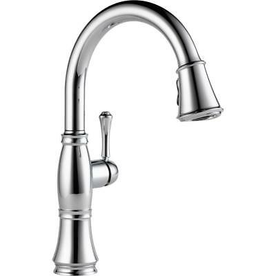 Houzer Soma Single Handle Pull Down Sprayer Kitchen Faucet With