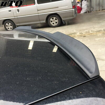 Flat Black 648 HPDL Type Rear Trunk Spoiler Wing For 2008~12 Honda Accord Coupe