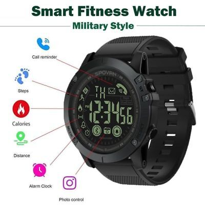 2019 T1 Tact - Military Grade Super Tough Waterproof Smart Watch New IP68 PR1-2