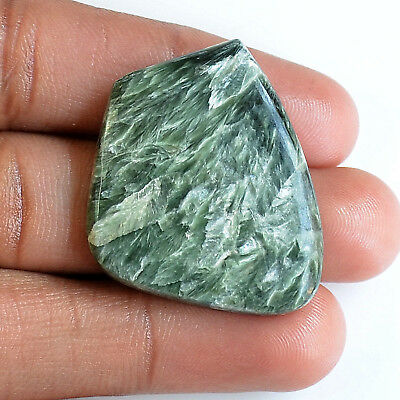 40 Ct.aaa Gorgeous 100% Natural Seraphinite Fancy Cabochon Loose Gemstone A32838