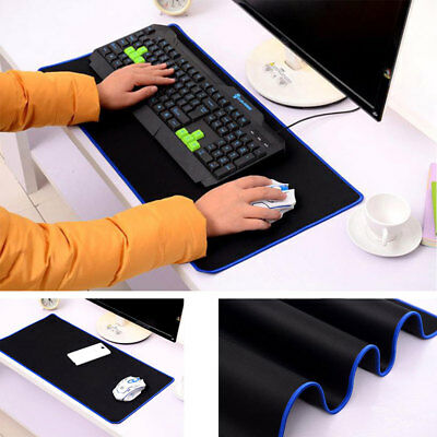 90*40cm Extra Large Gaming Keboard Mouse Pad Desk Mat for PC Laptop Anti-Slip BL