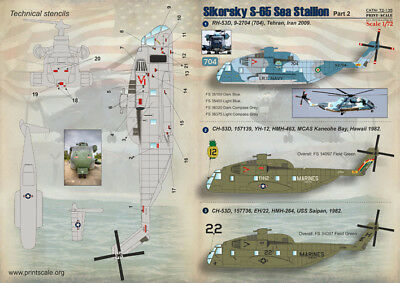 Print Scale 1/72 Sikorsky S-65 Sea Stallion Part 2 # 72135