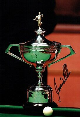 Ronnie O'Sullivan SIGNED Autograph Snooker World Champion Trophy Photo AFTAL COA