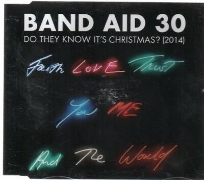 BAND AID 30 - DO THEY KNOW IT'S CHRISTMAS (2014) (4 track CD single)