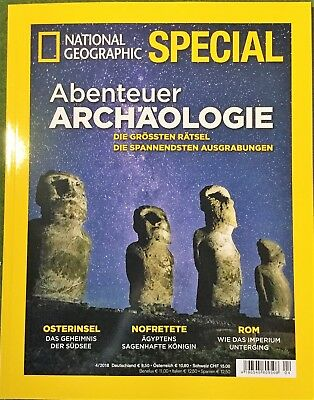 National Geographic Special 4/2018 Abenteuer Archäologie