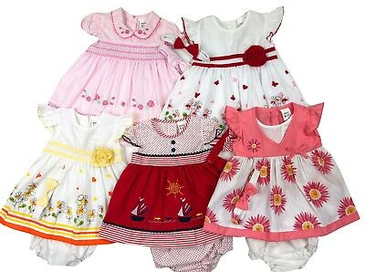 New with tags Lot of Baby Girl Clothes 15 pieces dresses set size 0 to 3 months