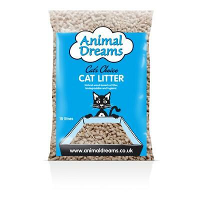 Animal dreams wood cat Litter-15LTR-30LTR-5LTR-Made from 100% recycled Timber