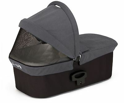 Baby Jogger DELUXE PRAM CARRYCOT CHARCOAL DENIM Pushchair Buggy Accessory BNIP