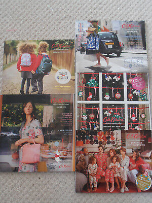 Cath Kidston Catalogues x 5 from 2015 & 2016 : vgc