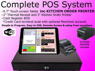 POS system +Kitchen printer Bar Restaurant Pizza Takeout Night club Cafe Coffee