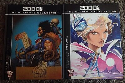 2000AD The Ultimate Collection - Issue #1 & 2 SLAINE and HALO JONES, VGC