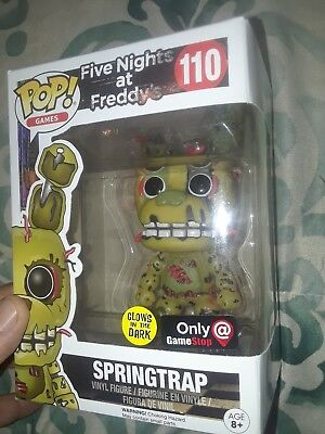 Funko Pop! Games Five Nights at Freddy's #110 Springtrap Glow in the Dark