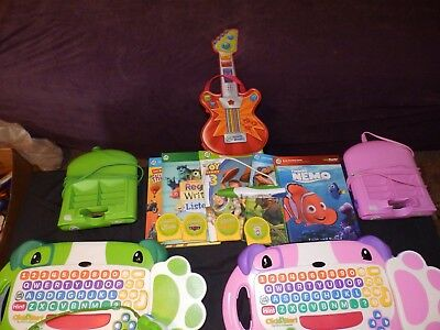 Leap Frog Click Start My First Computer Consoles & Leap Reader Pen & Touch Magic