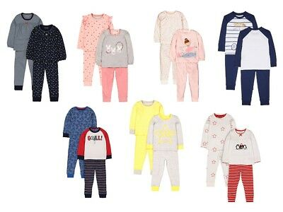 2 / 3 Packs Mother Care Baby Boy/Girl Very Cute Design Night Pyjamas Brand New