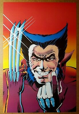 Wolverine Come Here Marvel Comics Poster by Frank Miller