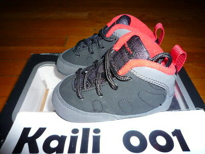 Jordan 9 Retro (GP) (TD) Size 4c Charcoal 401843-005 First Baby Soft bottoms B