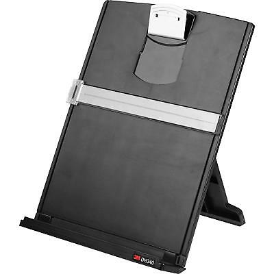 3M DH340MB - Desktop Document Holder with Clip - New in Box