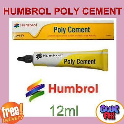 Humbrol Poly Cement 12ml Model Adhesive Glue Pastic