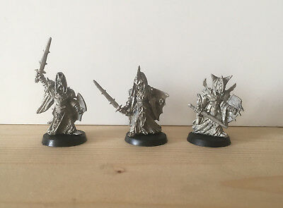 Games Workshop Citadel Lord of the Rings Lotr Black Numenorean Metal