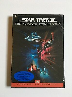 Star Trek III: The Search for Spock (DVD, 2000, Generic) NEW
