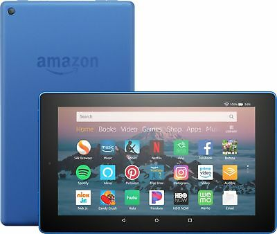 """Amazon - Fire HD 8 - 8"""" - Tablet - 16GB 8th Generation, 2018 Release - Marine..."""