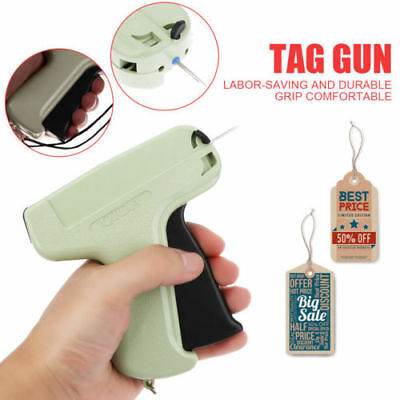 "Garment Clothing Price Label Tag Tagging Tagger Gun with 1000 3"""" Barbs 5 Needle"