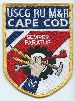United States Coast Guard USCG patch RU M&R Cape Cod 4-1/2 X 3-3/8