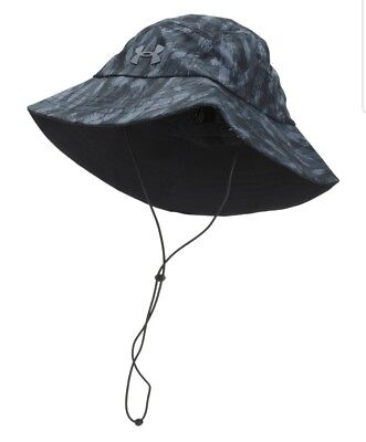 cb2cac4be UNDER ARMOUR MEN'S ArmourVent Warrior 2.0 Bucket Hat Camo UPF 30 NWT