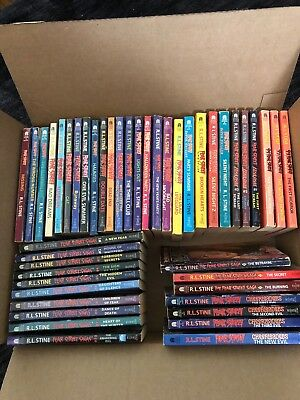 Fear Street: You Choose Which You Want Lot of 46 books. Stine, 91-97, Paperback