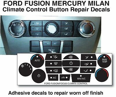 06-09 FORD MERCURY FUSION A//C HEATER CLIMATE CONTROL 6E5H-18C612-BN   RE#BIGGS