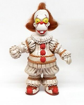 simpson parody, it, pennywise. eso 2017, mexican figure resin