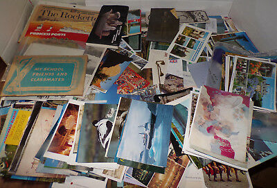 Huge Lot 500+ Postcards Travel Souvenir Countries States Brochures Pictures+