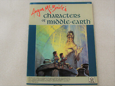 MERP - Angus Mc Bride´s - Characters of Middle Earth - (I.C.E.)