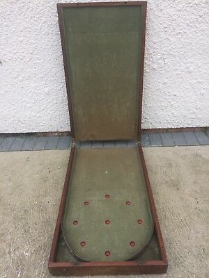 Country House Clearance - Large 19th Century Victorian Folding Bagatelle Table
