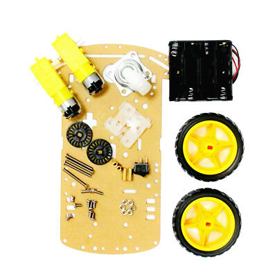 2WD Robot Smart Car Chassis Kits Car with Speed Encoder for Arduino DIY kit