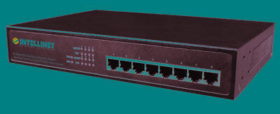 Intellinet 8 Port Gigabit Switch All Poe+ Desk 560641