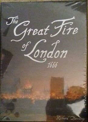 The Great Fire of London 1666. By Richard Denning. Pandasaurus Games.