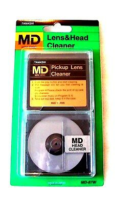TAMASHI MD Minidisc Lens and Recording Head Cleaners, brand new, made in Japan