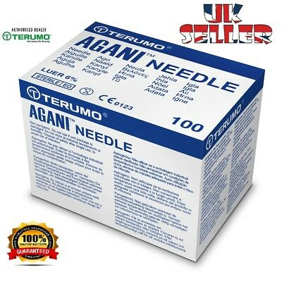 Injection Needles. Sterile Hypodermic Needle Terumo Agani CE gym no syringes