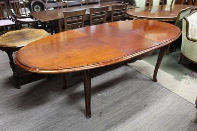 A French Cherry Wood Extension Dining Table 2.3 Metres