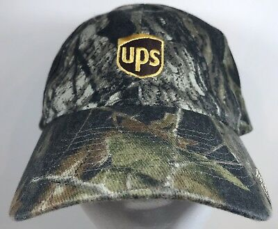 44e4dcc87a406 UPS United Parcel Service Camo Freight Mail Ball Hat Cap Camouflage Shipping