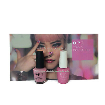 NEW OPI TOKYO GEL COLOR + MATCHING NAIL POLISH - Another Ramen-Tic Evening T81