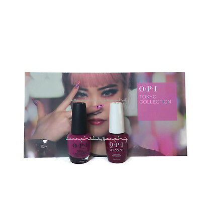 NEW OPI TOKYO GEL COLOR + MATCHING NAIL POLISH - Hurry-Juku Get This Color! T83