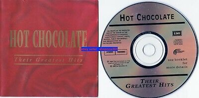 Hot Chocolate Greatest Hits CD EMI Australia & FREE  Fan DVD ABC TV Rage