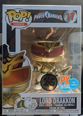 *NEW IN HAND* Funko Pop! Lord Drakkon Power Rangers PX Previews Exclusive #17