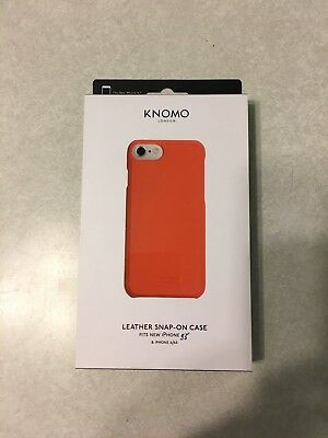 online store 63153 08889 NEW!! KNOMO LONDON Leather Snap-On Case for iPhone 7 / 6 / 6s ...