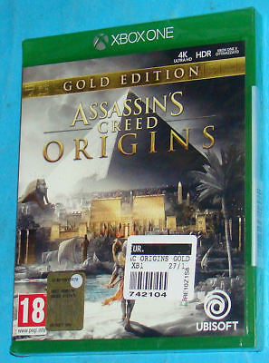 Assassin's Creed Origins - Gold Edition Microsoft XBox One PAL New Nuovo Sealed