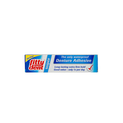 Fittydent Denture Adhesive Super Hold 40g Dental Oral Care Non Slip Insoluble