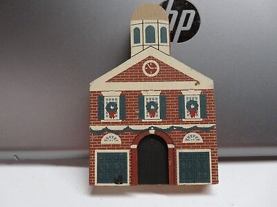 The Cats Meow Village Building - Philadelphia Christmas Ser Head House 1988 #11